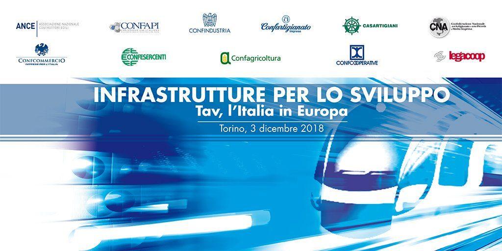 Infrastrutture per lo sviluppo, Confesercenti a Torino