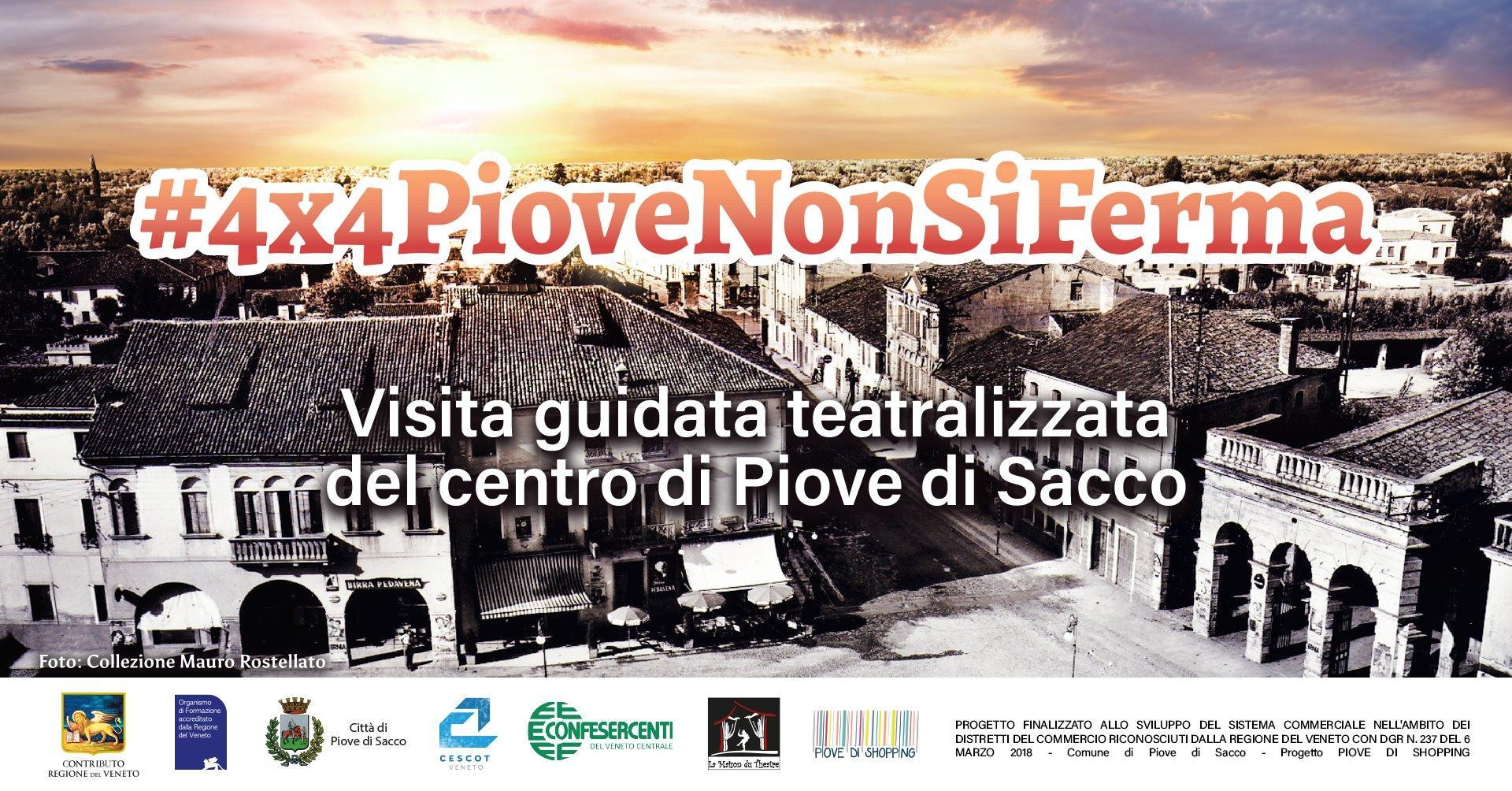 Confesercenti Veneto Centrale, Piove di Sacco: Percorso Animato Teatralizzato