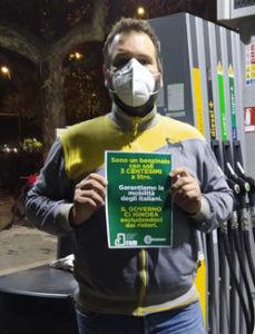 """Confesercenti Modena, i benzinai lanciano una protesta social: """"Il Governo ci ignora escludendoci dai Ristori"""""""