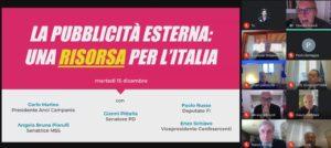 """Webinar: """"La pubblicità Esterna: una risorsa per l'Italia"""""""