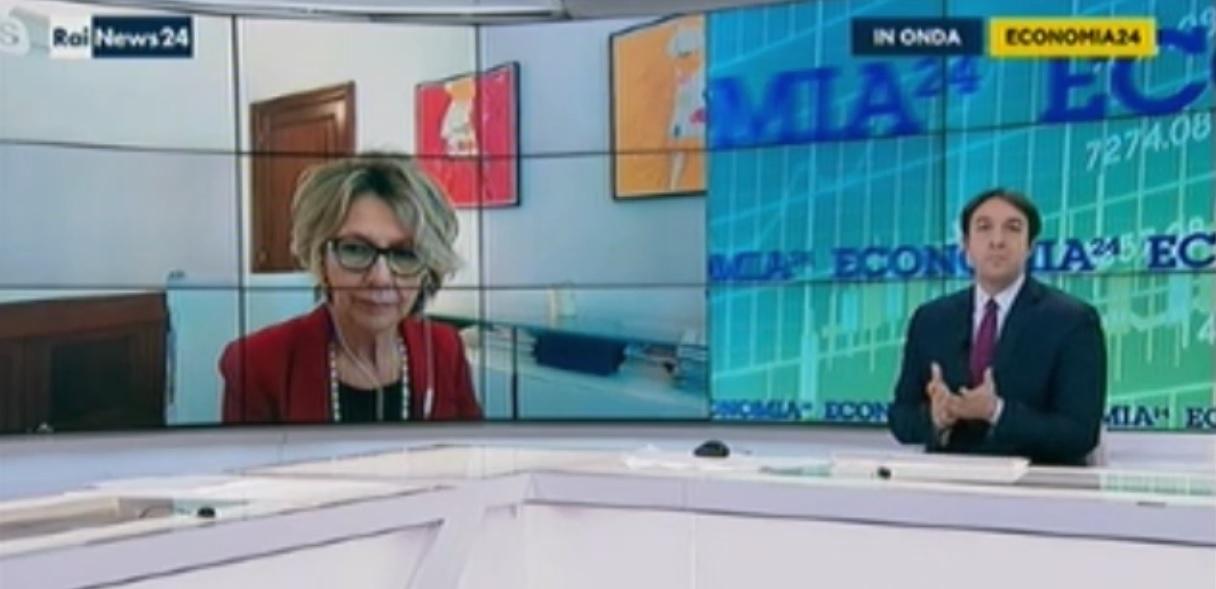 Imprese e ipotesi lockdown, la presidente De Luise ospite di Rainews24