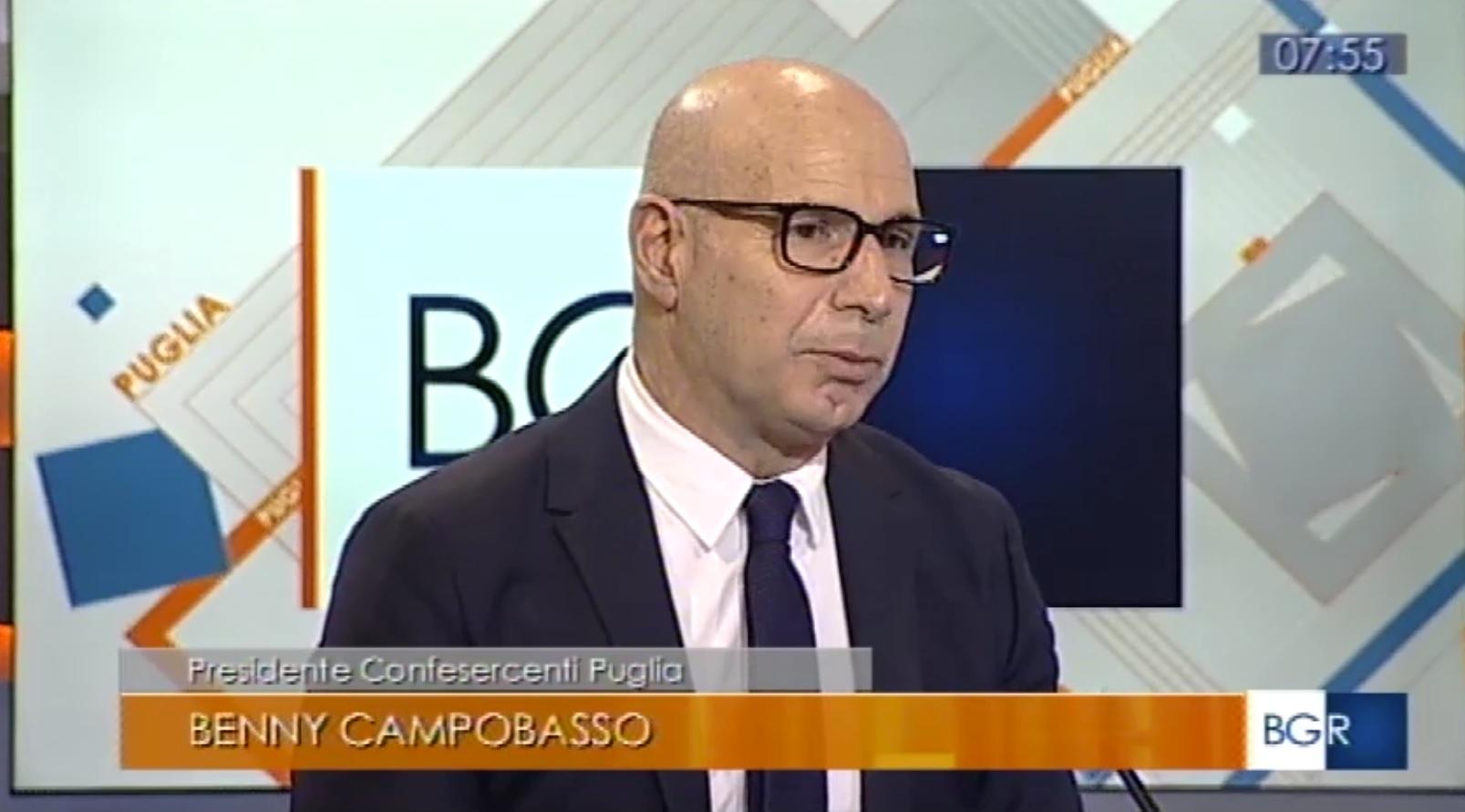 Saldi in Puglia, il punto del presidente Benny Campobasso