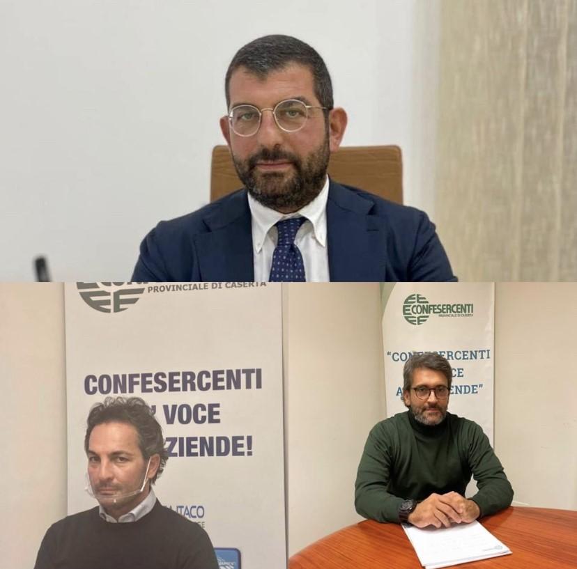 Confesercenti Caserta: Nicola Ferraro nuovo Presidente provinciale Fiepet e Ivan Fiorillo neo eletto a Presidente cittadino