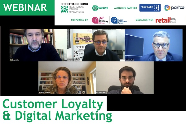 "Federfranchising, on line la registrazione del webinar ""Customer Loyalty & Digital Marketing"""