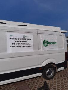 """Confesercenti Modena, Anva: mobilitazione regionale: """"Riaprire subito i mercati, ristori immediati e cancellazione Cosap"""""""