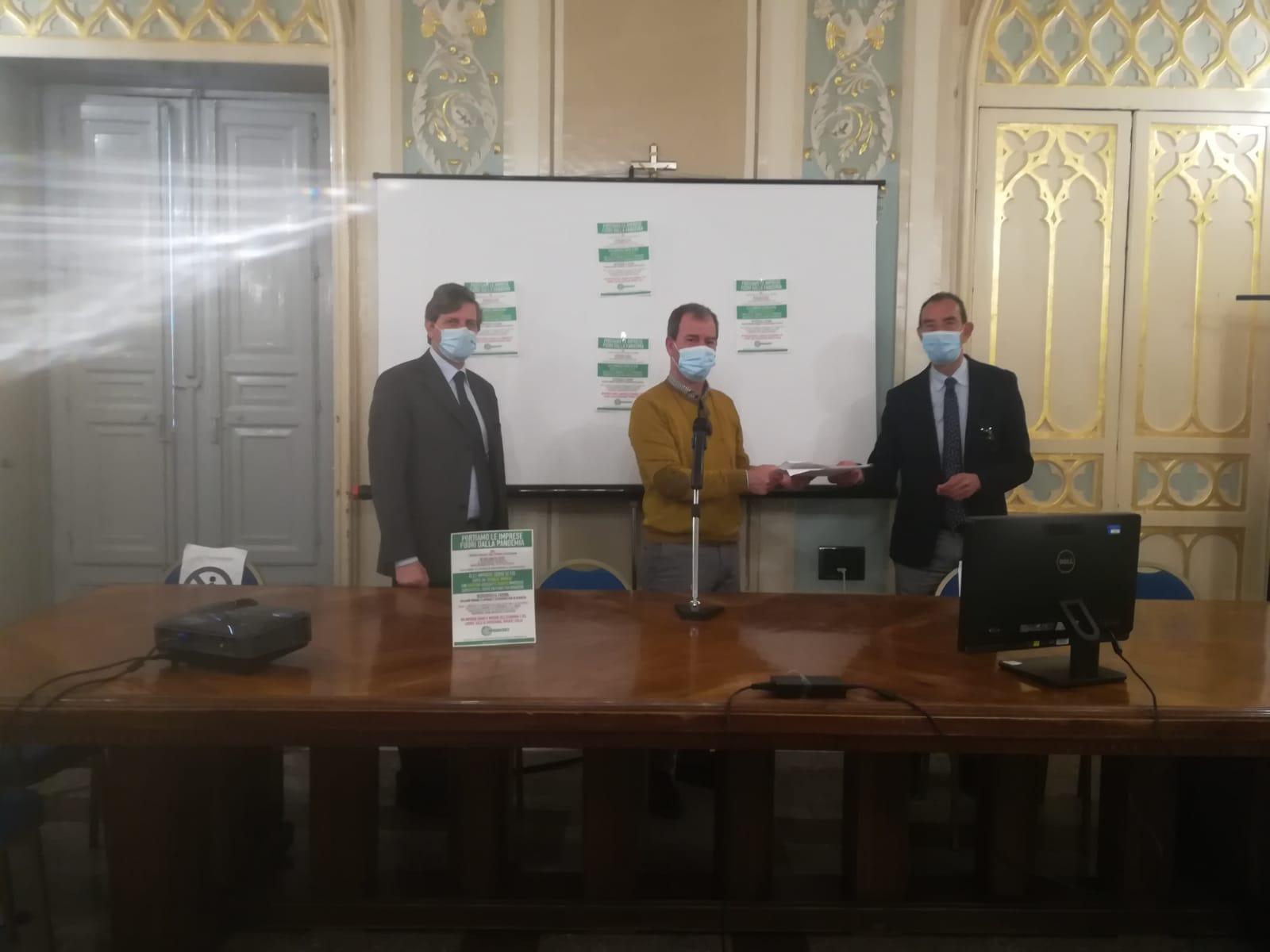 Confesercenti Sicilia incontra i vertici della Camera di Commercio di Agrigento: una mobilitazione nazionale per portare le imprese fuori dalla pandemia