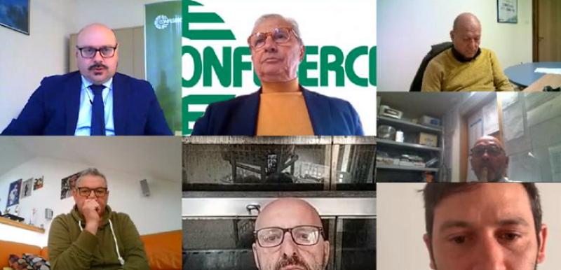 """Confesercenti Abruzzo, Fiesa """"Portiamo le imprese fuori dalla pandemia"""": giornata di mobilitazione per uscire dall'emergenza"""