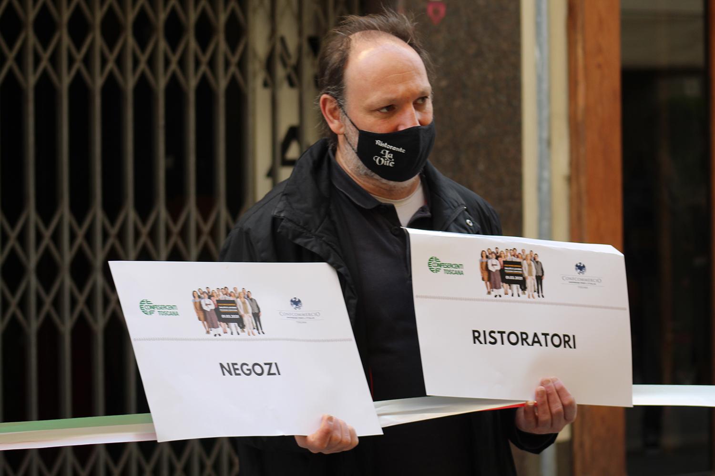 """Confesercenti Arezzo, proteste in A1 Fiepet interviene: """"Ormai la categoria è all'esasperazione. Non condividiamo la manifestazione ma comprendiamo lo stato d'animo di chi vi ha partecipato"""""""