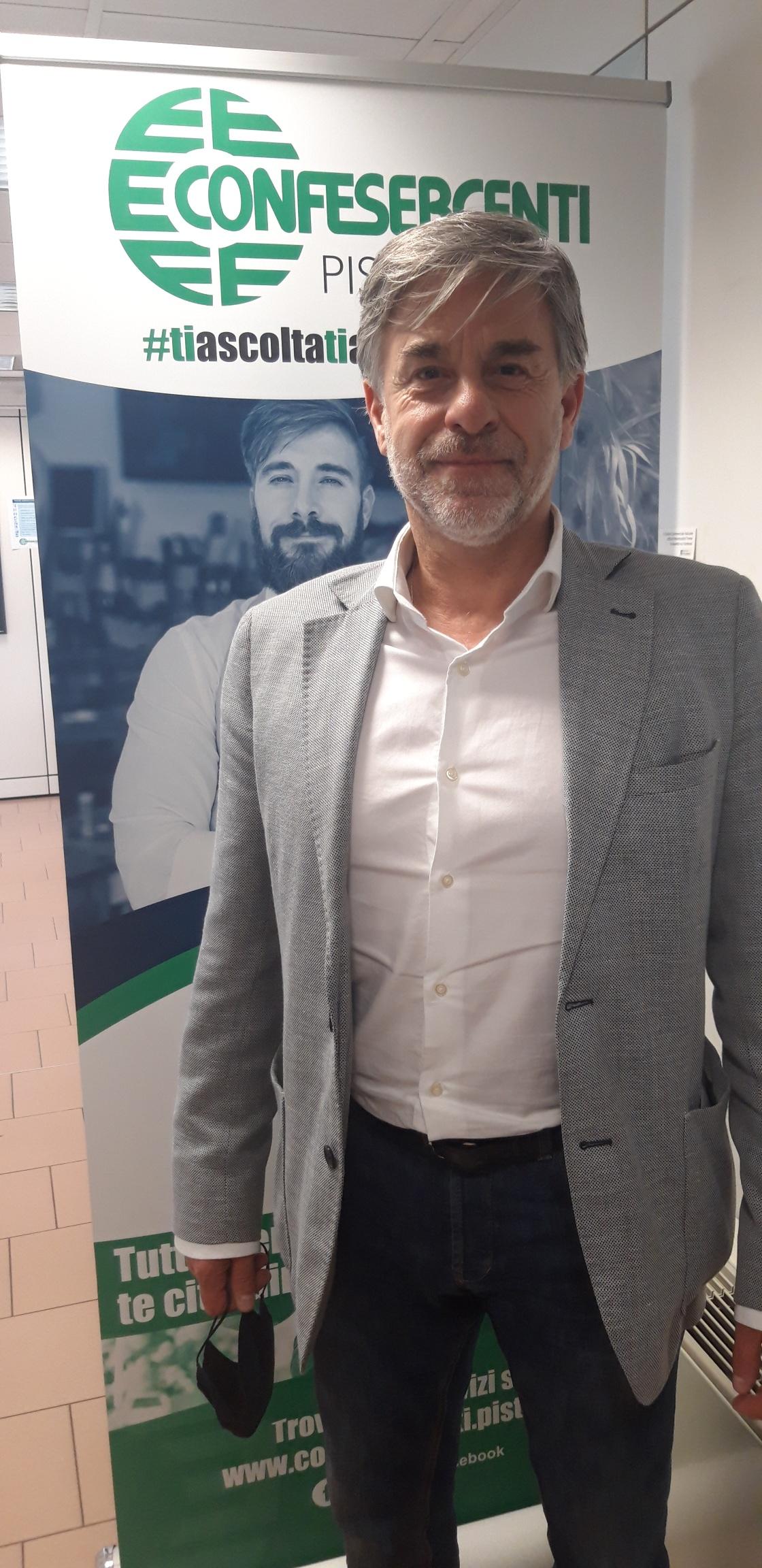 Confesercenti Pistoia: David Cecchi confermato Presidente Confesercenti Valdinievole Ovest