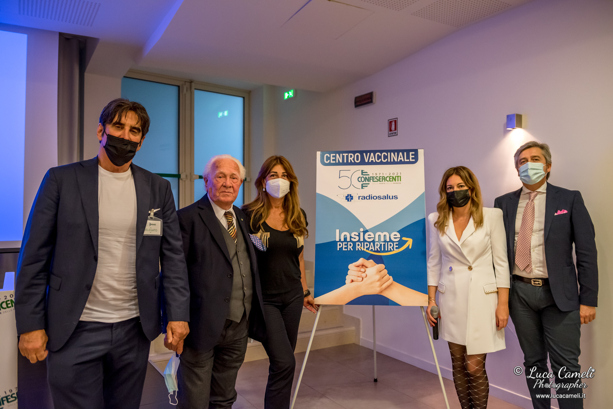 Covid, Confesercenti Marche e RadioSalus inaugurano Hub vaccinale a San Benedetto del Tronto: impegno per un Piceno covid free e per la ripartenza in sicurezza della stagione balneare