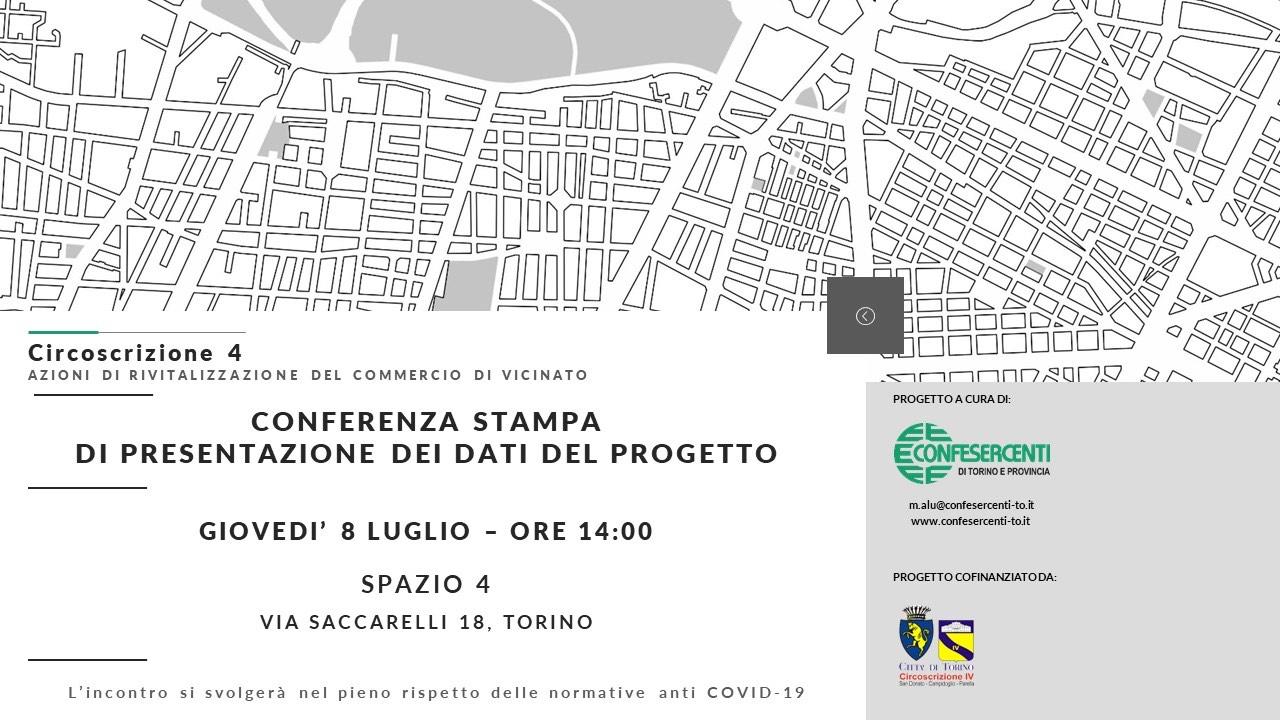 Confesercenti Torino e Circoscrizione 4: azioni comuni per la rivitalizzazione di negozi e mercati
