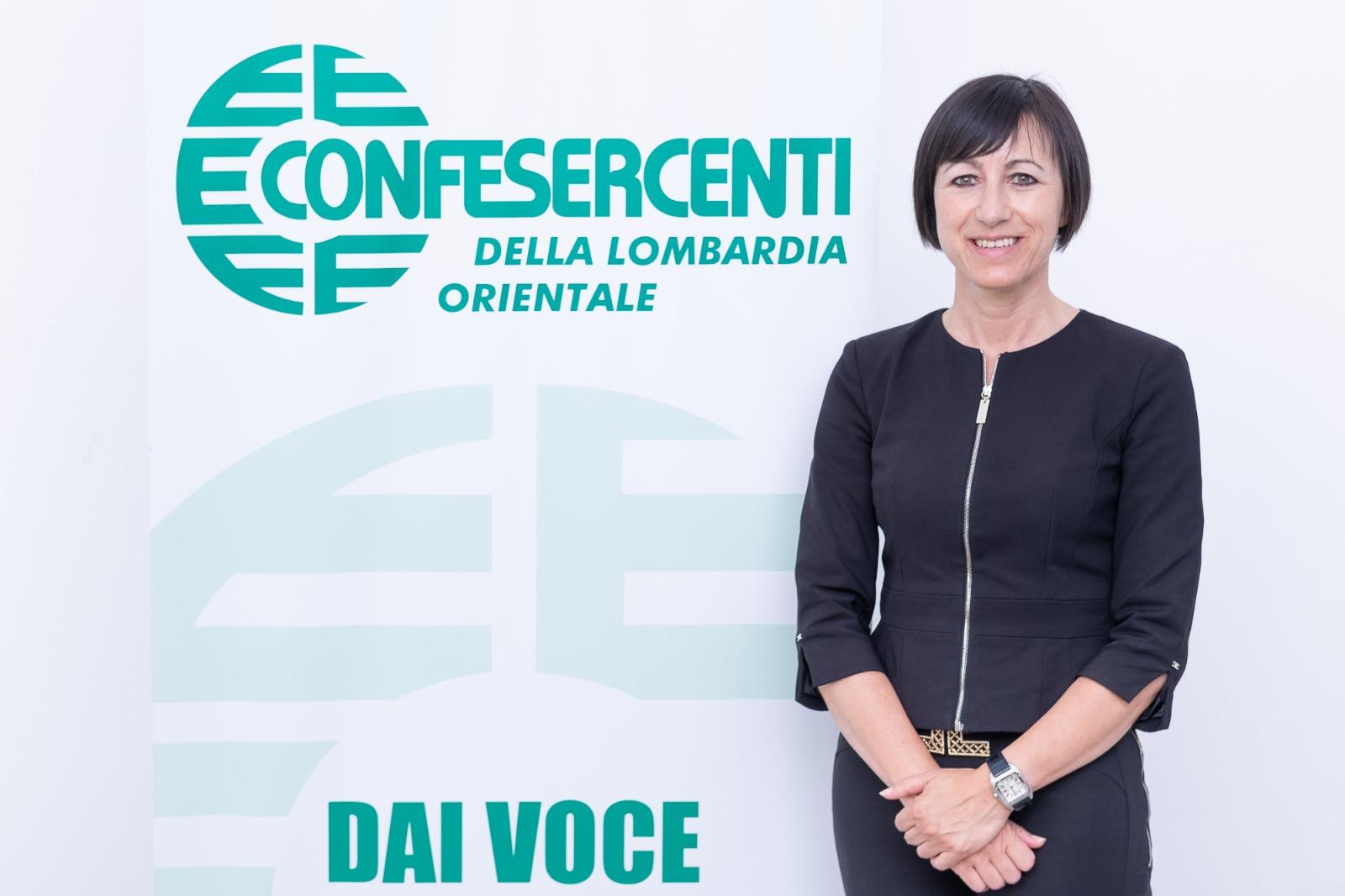 Barbara Quaresmini è la nuova Presidente di Confesercenti Lombardia Orientale