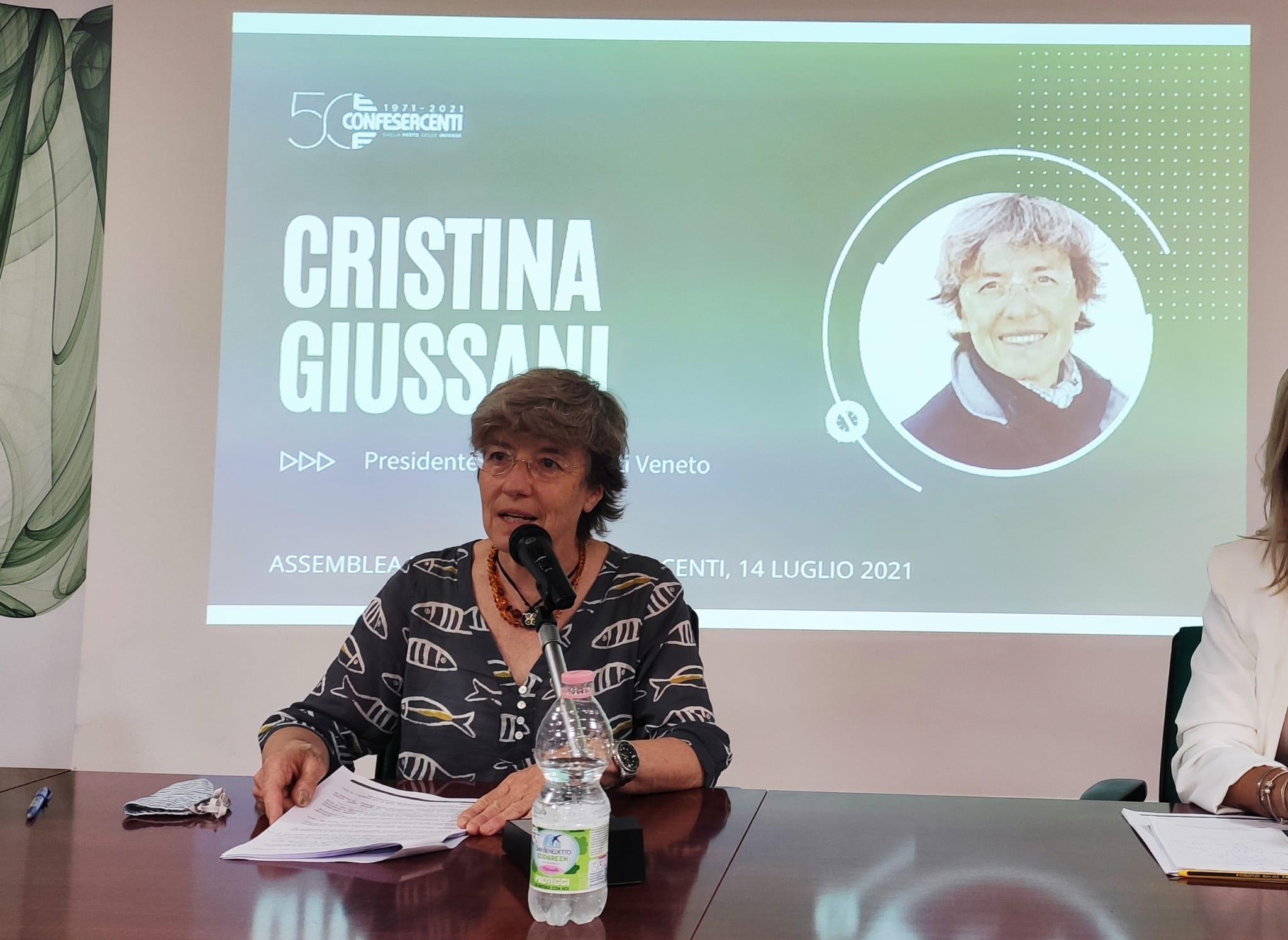 Cristina Giussani rieletta alla presidenza di Confesercenti Veneto
