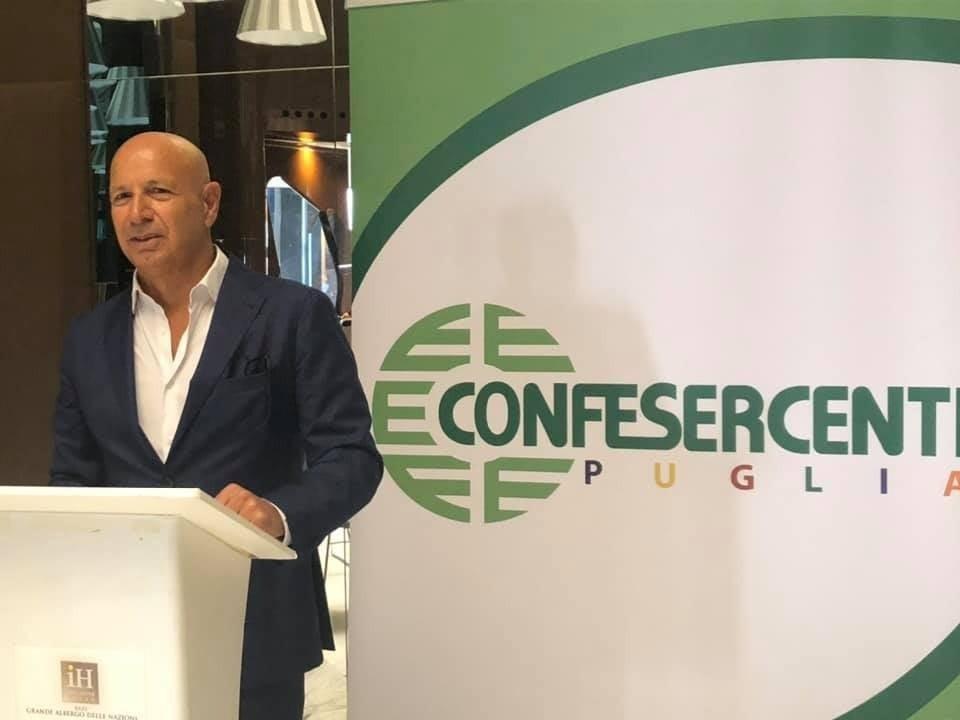 Confesercenti Puglia: Benny Campobasso confermato Presidente