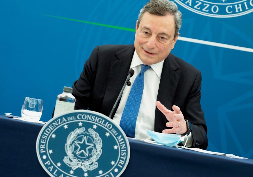 Governo, Draghi: nelle prossime settimane presenteremo riforme fisco e concorrenza