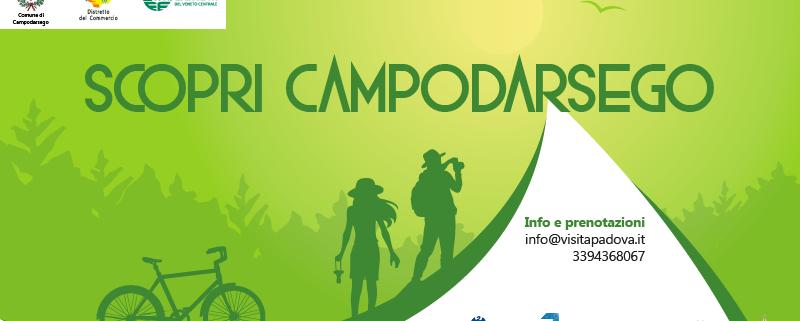 Confesercenti Veneto Centrale, scopri Campodarsego 2021: tour a piedi, su due ruote e a sei zampe