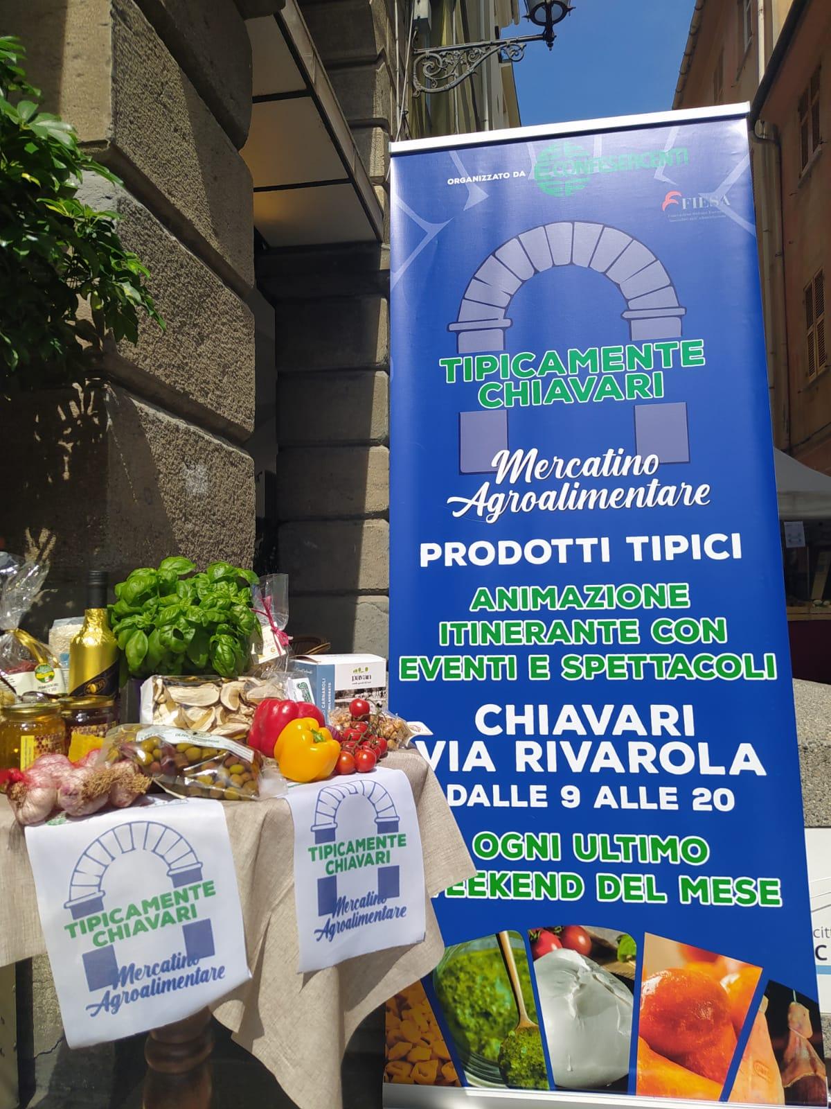 Confesercenti Liguria, Chiavari: nel weekend torna il Mercatino Agroalimentare di via Rivarola