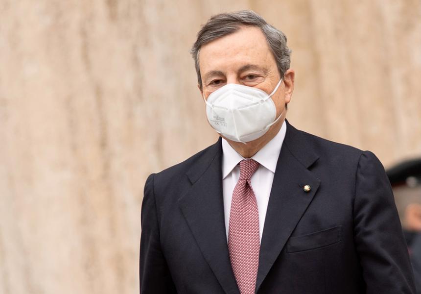 Governo: Draghi, no oneri sistema gas e elettricità ultimo trimestre, per famiglie e piccole imprese