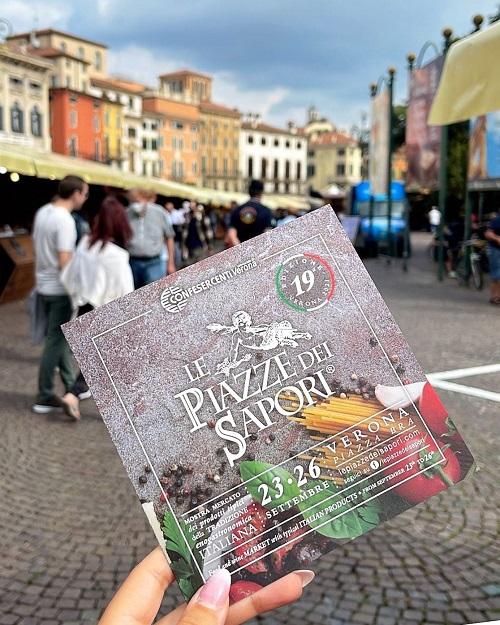 Confesercenti Verona, Le Piazze dei Sapori: obiettivo raggiunto, aumentate le presenze del turismo di prossimità, quasi 100 mila le visite