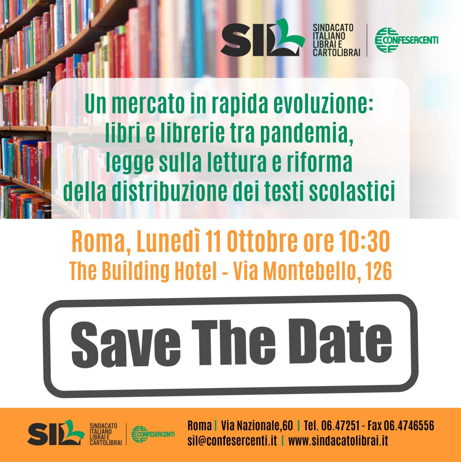 editoria:-il-mercato-dei-libri-tra-pandemia,-legge-sulla-lettura-e-riforma-della-scolastica,-l'11-ottobre-il-convegno-del-sil-confesercenti-a-roma
